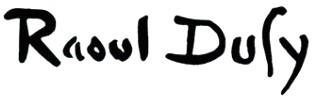 Signature Raoul Dufy