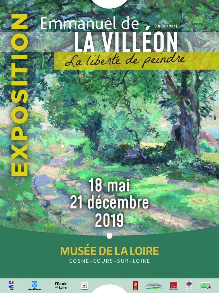Exposition La Villéon, la liberté de peindre - 2019