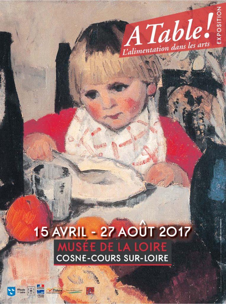 Exposition A table, l'alimentation dans les arts - 2017