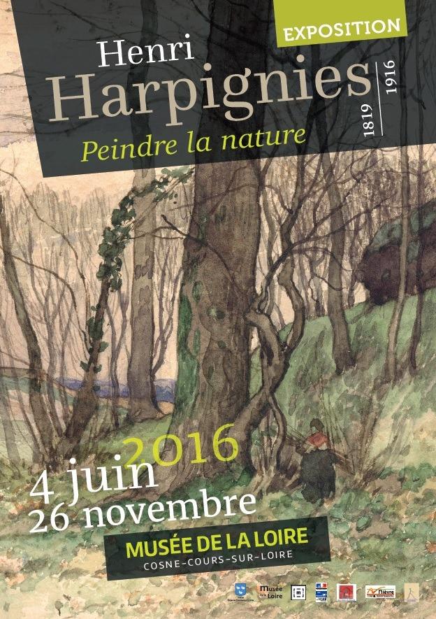 Exposition Henri Harpignies, peindre la nature - 2016