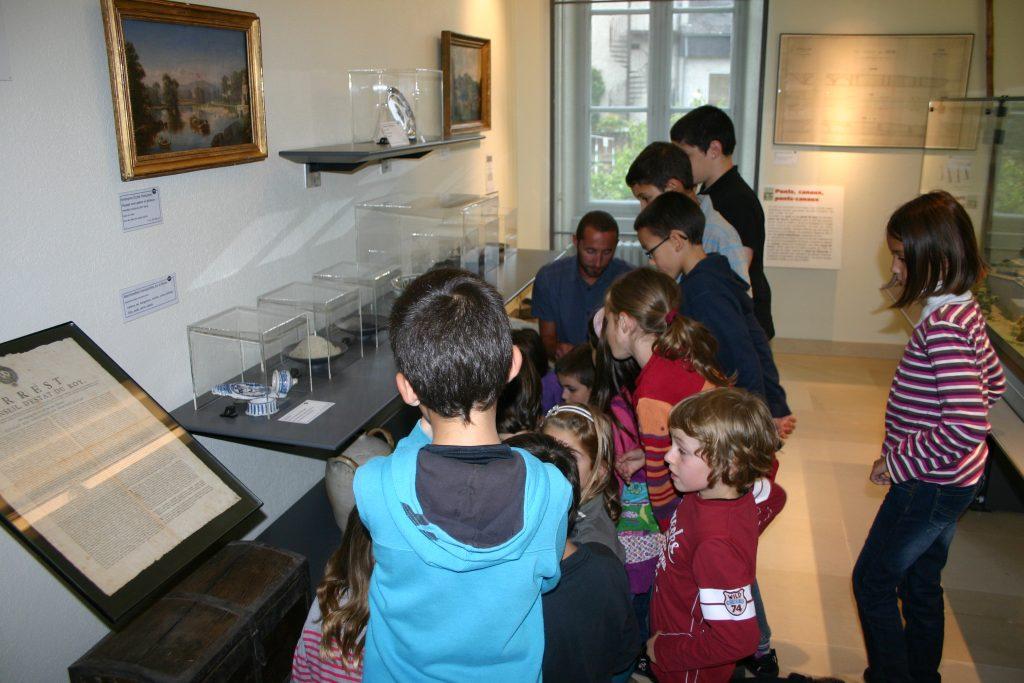 Les scolaires au musée