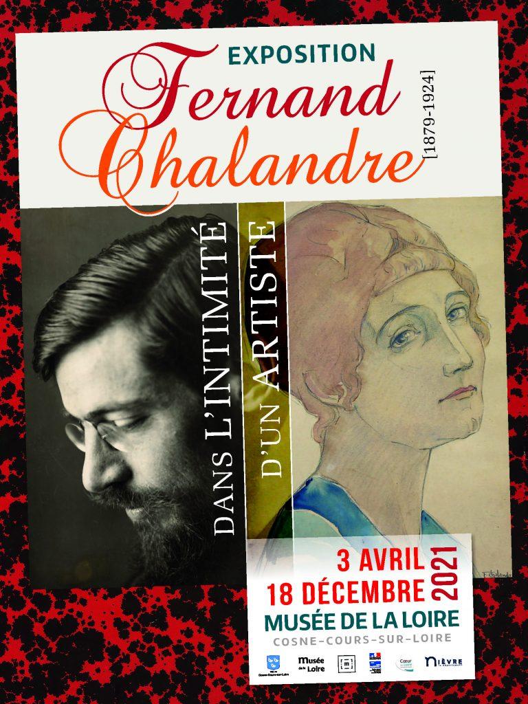 Exposition : Fernand Chalandre (1879-1924), dans l'intimité d'un artiste du 3 avril au 18 décembre 2021